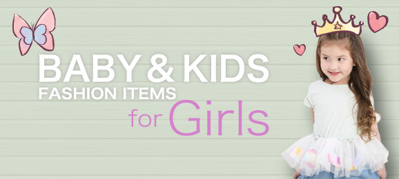 Baby & Kids Fashion Items for Girls
