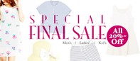 SPECIAL FINAL SALE