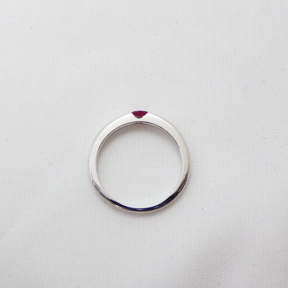 Gemstone Details about  /Solid 925 Sterling Silver Casual Ring with Natural Ruby Gf 1.94 Ct
