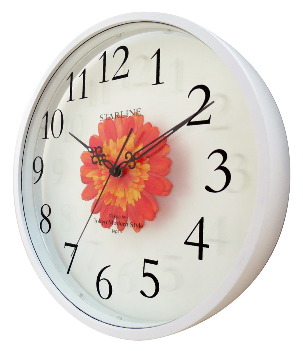 Art Flower Clock Wall Clock | Export Japanese products to the world