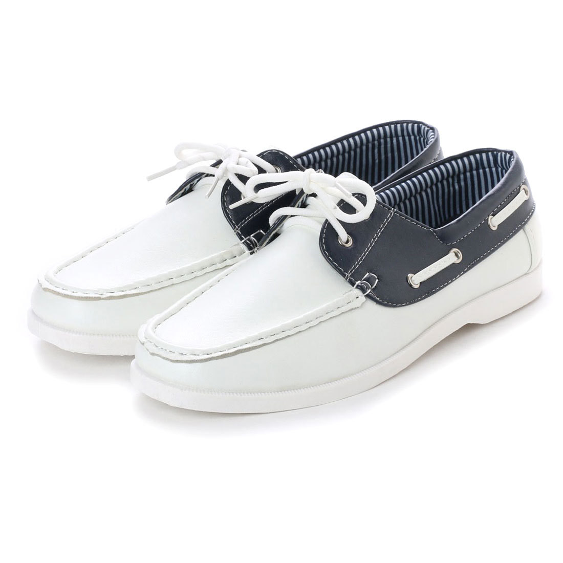 Deck Shoes White   Export Japanese