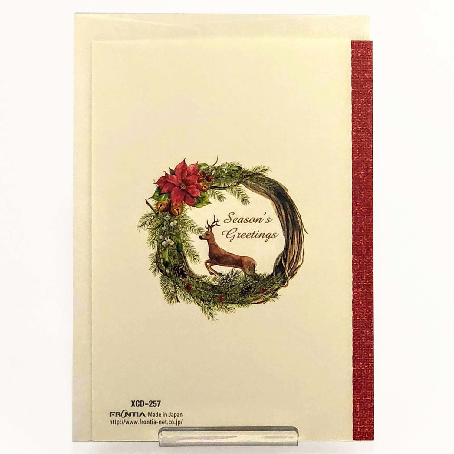 Christmas Card Wreath Export Japanese Products To The World At