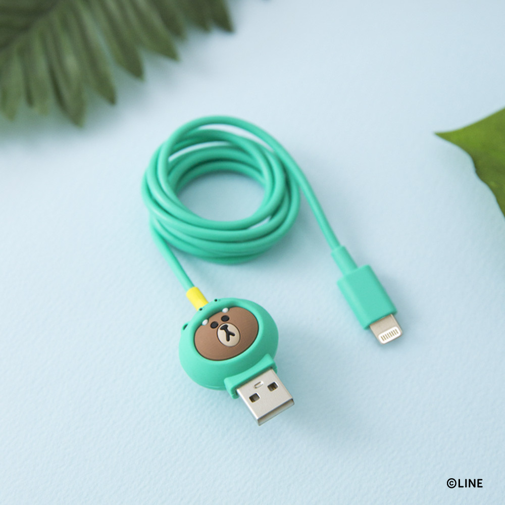 Line Friends Brown Light Cable | Export Japanese products to the ...