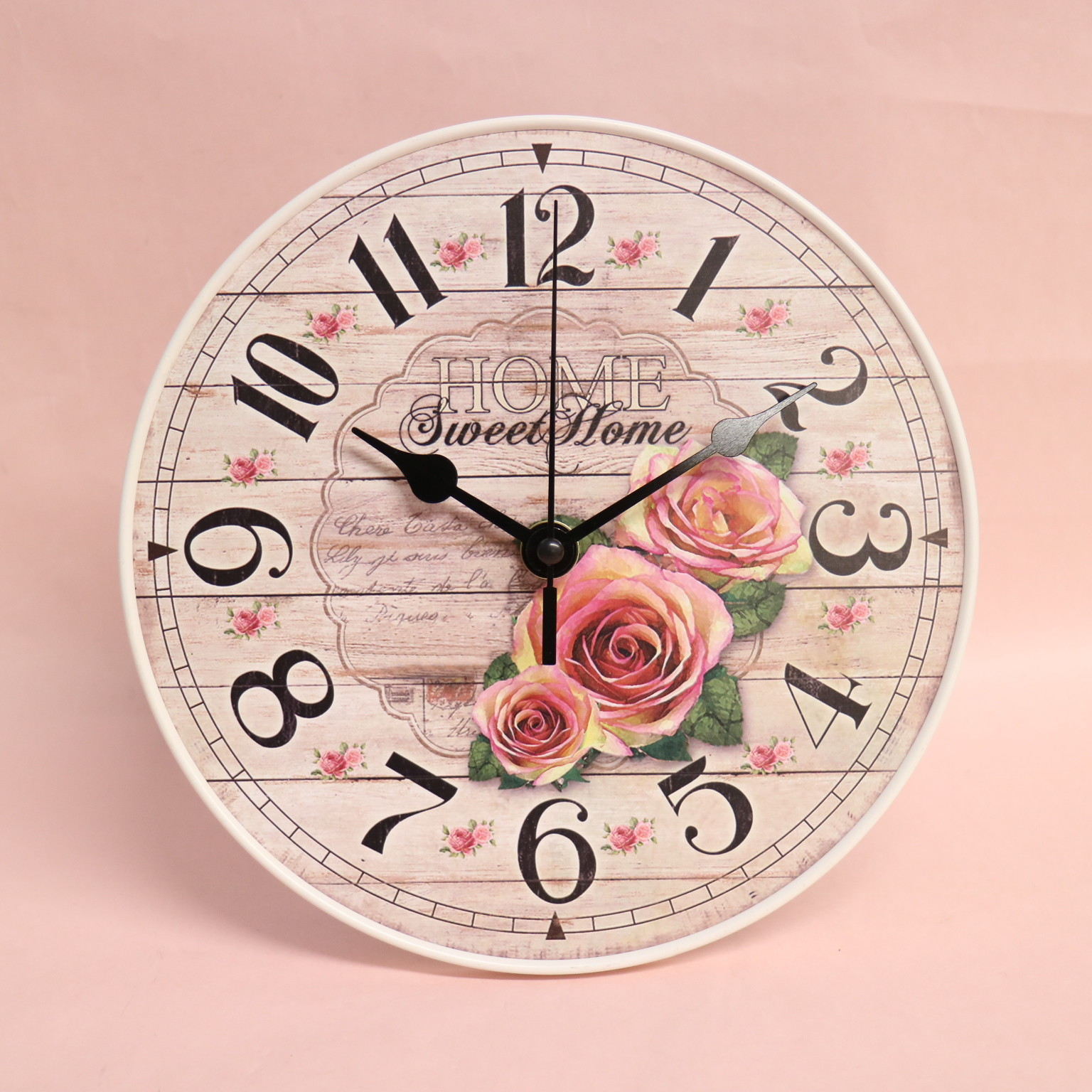 Rose Wall Clock Table Clock Unisex Import Japanese Products At Wholesale Prices Super Delivery