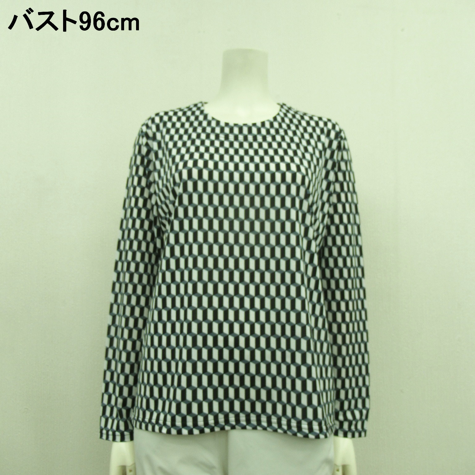 Square Pattern Crew Neck | Export Japanese products to the world at  wholesale prices - SUPER DELIVERY