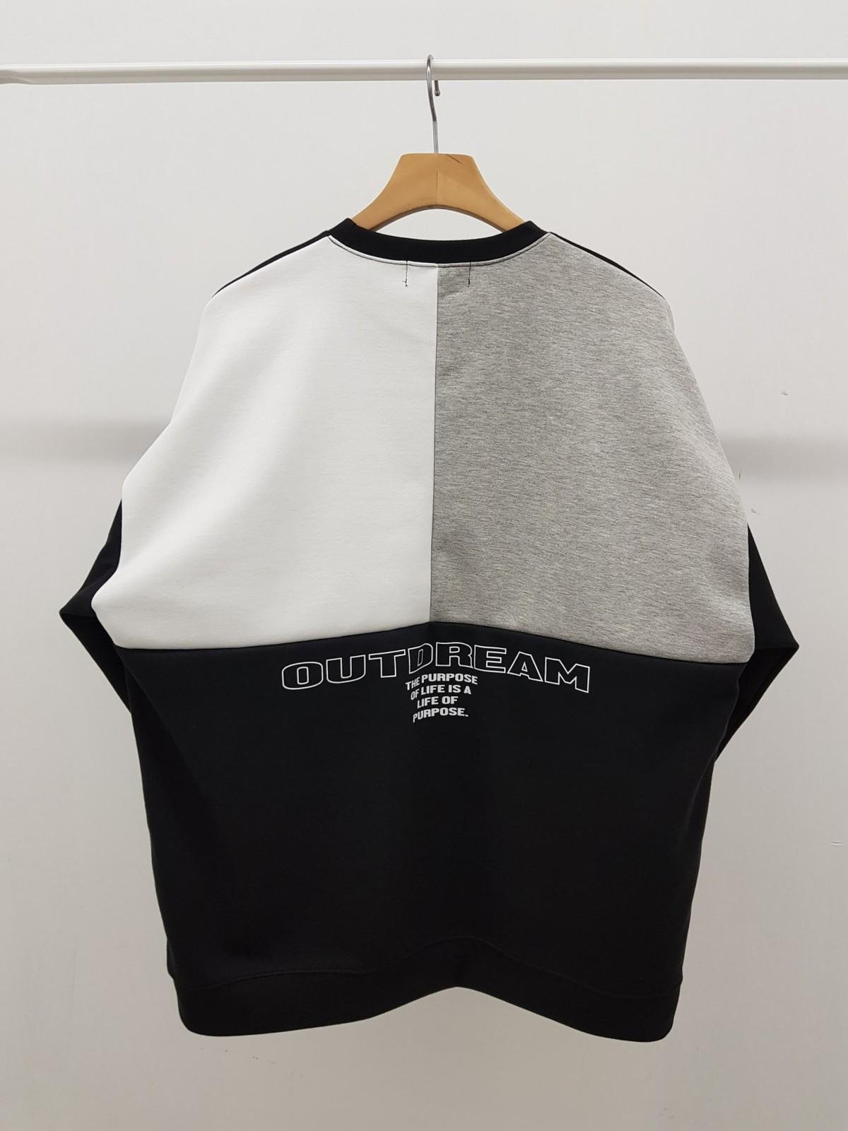 Bag Block Color Scheme Sweatshirt Men S Apparel Export