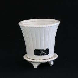 Pot Saucer White Export Japanese Products To The World At Wholesale Prices Super Delivery