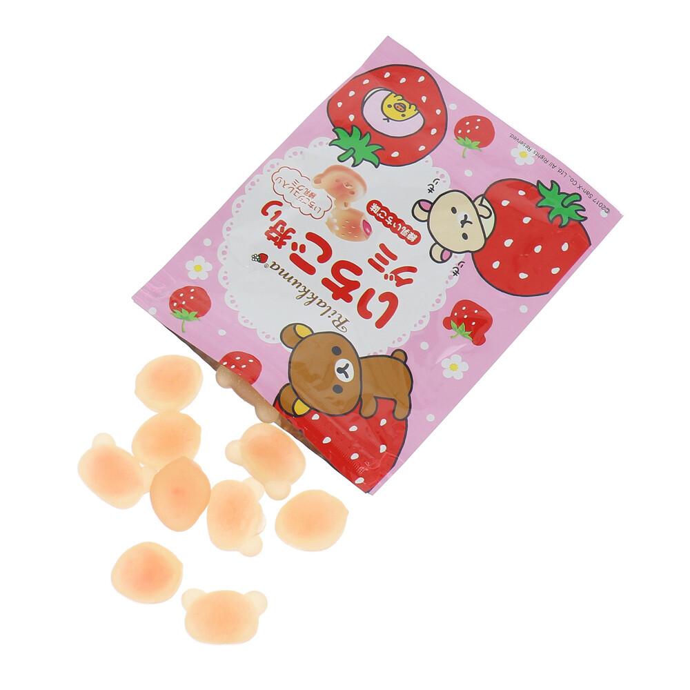 お菓子】『リラックマ いちご狩りグミ 8個入』の商品ページ 卸・仕入れサイト【スーパーデリバリー】
