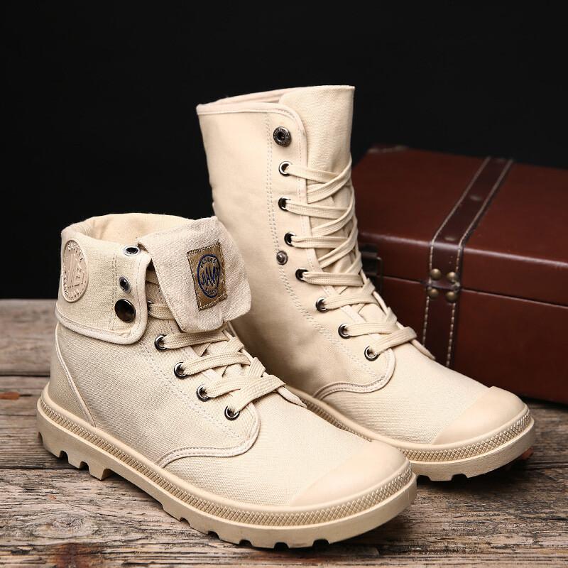 Men's Boots Canvas Shoes March Boots
