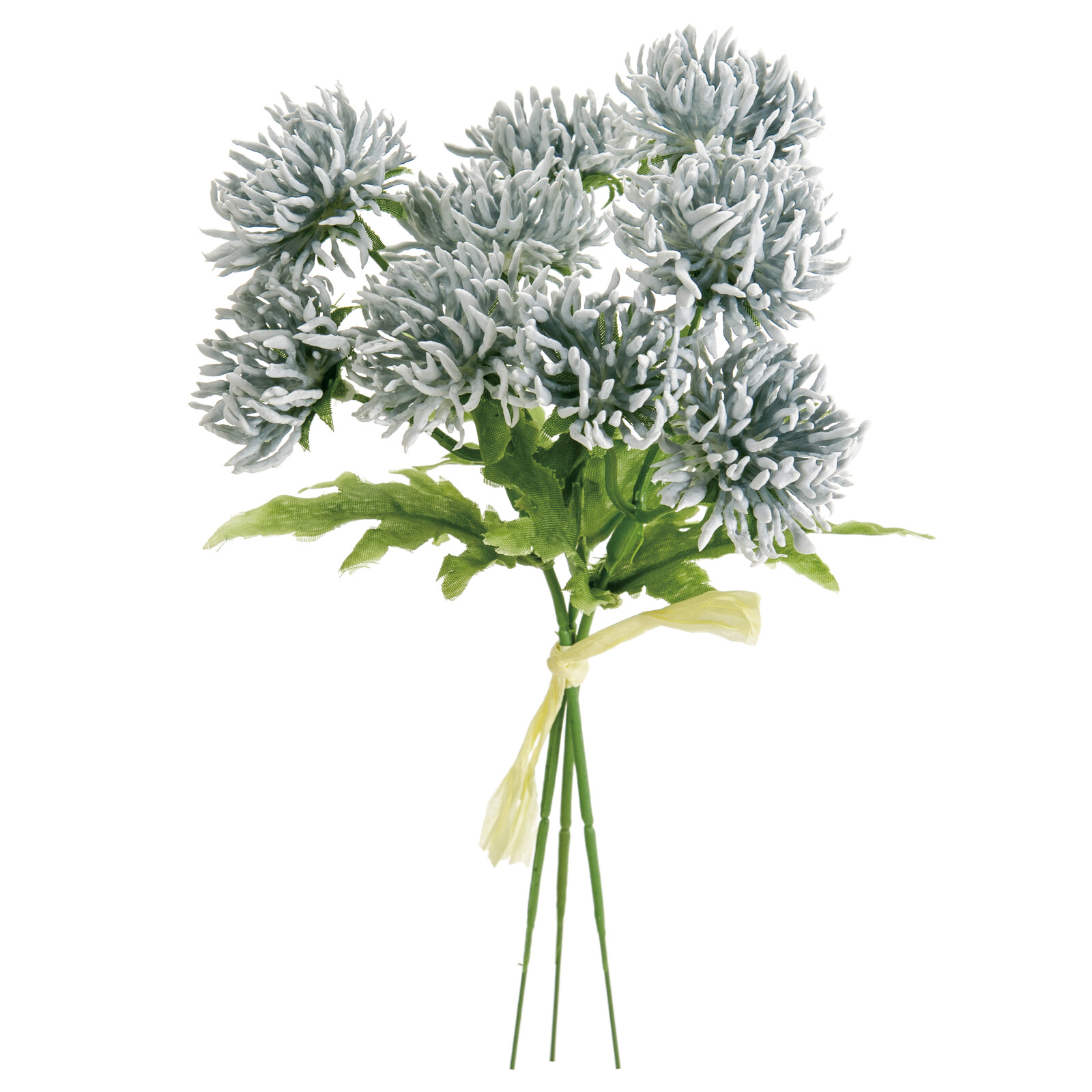 Broom Pick Light Blue Flower Artificial Flower Export Japanese Products To The World At Wholesale Prices Super Delivery
