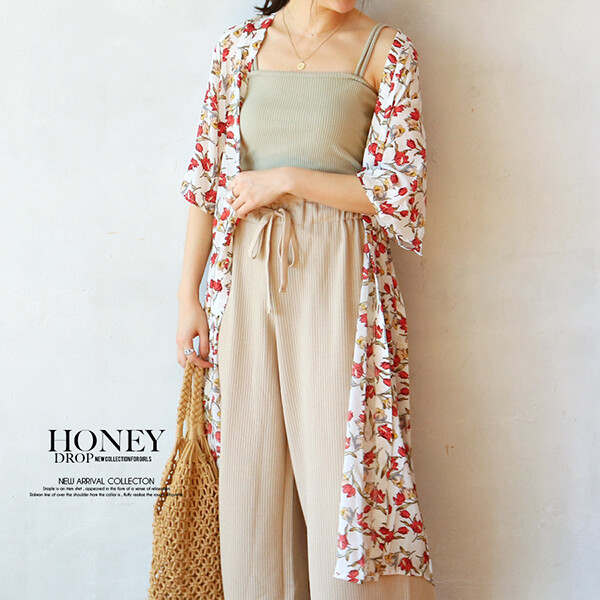 S S Floral Pattern Robe Long Cardigan 2020newitem Export Japanese Products To The World At Wholesale Prices Super Delivery