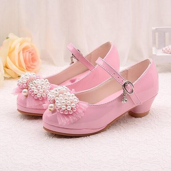 Girl Kids Shoes Heel Kids Shoe Bride