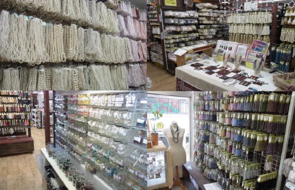 宏和産業は、自社工場にてお客様のご要望に合わせたオリジナルパーツ等を製作しております。 東京、大阪、福岡にビーズショップj4を展開し、アクセサリーパーツの販売