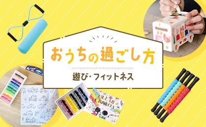 お家の過ごし方 〜遊び・フィットネス〜